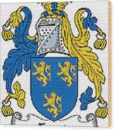 Foord Coat Of Arms Irish Wood Print
