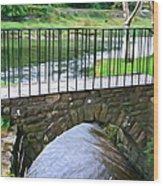 Foot Bridge At Inistioge Wood Print