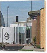 Football Hall Of Fame In Canton Wood Print