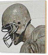 Football Memories Wood Print