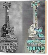 For American Guitars  Wood Print
