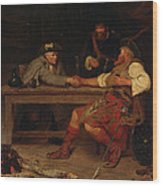 For Better Or Worse - Rob Roy Wood Print