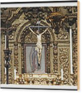 For Our Sins Wood Print