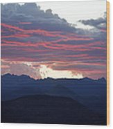 For Purple Mountains Majesty Wood Print