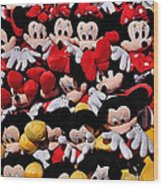 For The Mickey Mouse Lovers Wood Print