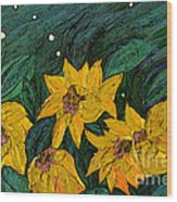 For Vincent By Jrr Wood Print