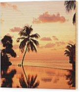 For You. Dream Comes True II. Maldives Wood Print