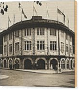 Forbes Field Pittsburgh 1909 Wood Print