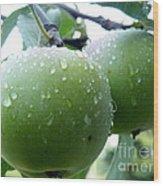 Forbidden Fruit Wood Print