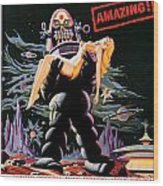 Forbidden Planet 1956 Wood Print
