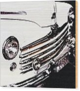 Ford '48 Wood Print by Cathie Tyler
