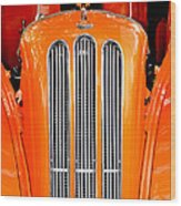 Ford Anglia Classic Wood Print
