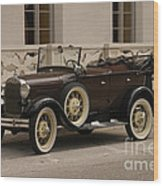 Ford Convertible 01 Wood Print