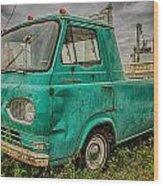 Ford Econoline Pickup Wood Print