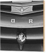 Ford F-1 Pickup Truck Grille Emblem Wood Print
