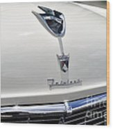 Ford Fairlane Grill Wood Print by Andres LaBrada