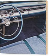 Ford Falcon Futura Interior Wood Print