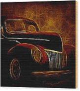 Ford Glow Wood Print
