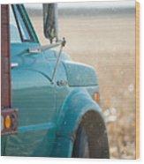 Ford Grain Truck Wood Print
