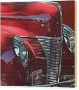 Ford Hotrod Wood Print