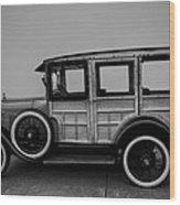 Ford Model A Station Wagon 1930 Wood Print