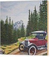 Ford Model T Wood Print