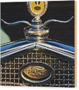 Ford Motometer Wood Print