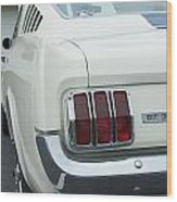 Ford Mustang Gt 350 Wood Print