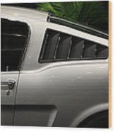 Ford Mustang Fastback 5d26841 Wood Print