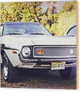 Ford Mustang New Jersey Usa Wood Print
