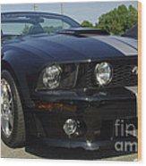 Ford Mustang Roush Wood Print