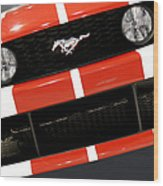 Ford Mustang - This Pony Is Always In Style Wood Print