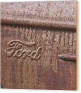 Ford Name Plate Wood Print