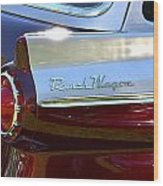 Ford Ranch Wagon Wood Print