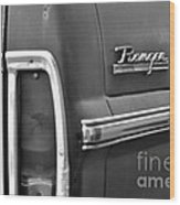 Ford Ranger Wood Print by Andres LaBrada