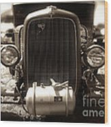 Ford Rod Wood Print