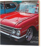 Ford Sunliner Wood Print