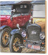 Ford-t  Mobiles Of The 20th Wood Print
