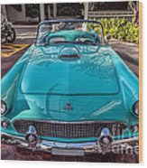 Ford Thunderbird  Wood Print