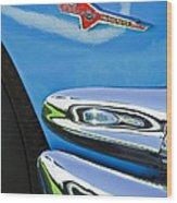 Ford Thunderbird Emblem -0505c Wood Print