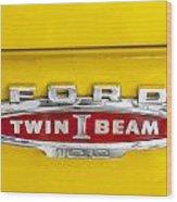 Ford Tough 1966 Truck Wood Print