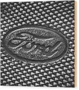 Ford Tough Wood Print
