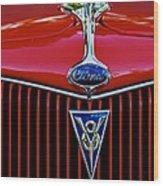 Ford's V8 Wood Print