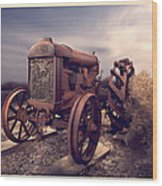 Fordson F Tractor Wood Print