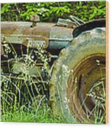 Fordson Major Diesel Two Wood Print