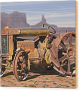 Fordson Tractor Wood Print