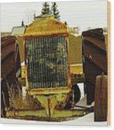 Fordson Tractor Plentywood Montana Wood Print
