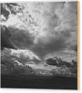 Foreboding Wood Print by Glenn McCarthy Art and Photography
