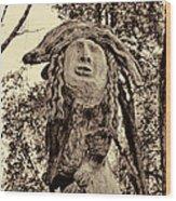 Forest Gardian Wood Print