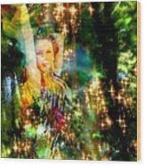 Forest Goddess 4 Wood Print